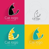 Cat logo or symbol