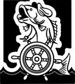 Retro Fish Captain