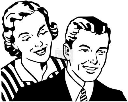 Photo for Retro Couple - Royalty Free Image