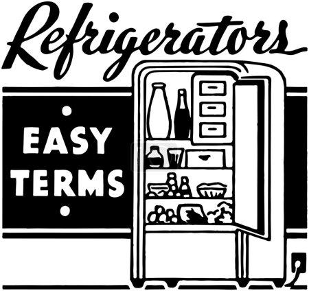 Illustration pour Réfrigérateurs - image libre de droit