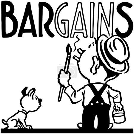 Illustration for Bargains - Royalty Free Image
