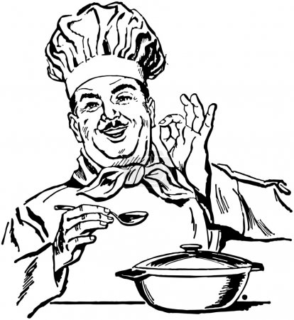 Illustration for Italian Chef - Royalty Free Image