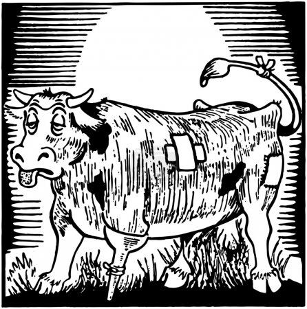 Illustration for Bum Steer - Royalty Free Image