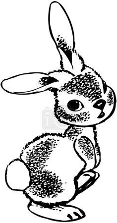Illustration for Rabbit - Royalty Free Image