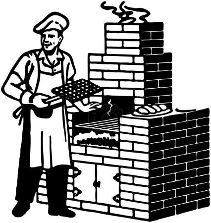 Brick Barbeque