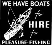 We Have Boats For Hire