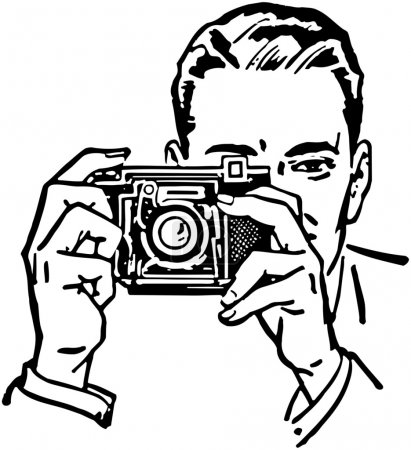 Photo for Man With Camera - Royalty Free Image