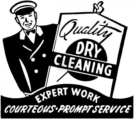 Photo for Quality Dry Cleaning - Royalty Free Image