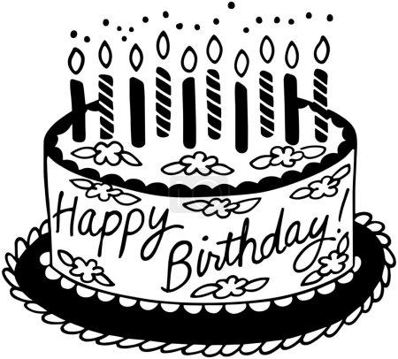 Photo for Happy Birthday Cake - Royalty Free Image