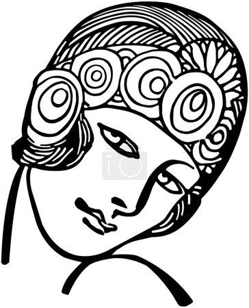 Illustration pour Déco princesse - image libre de droit