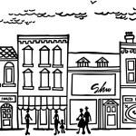 Small Town Main Street...