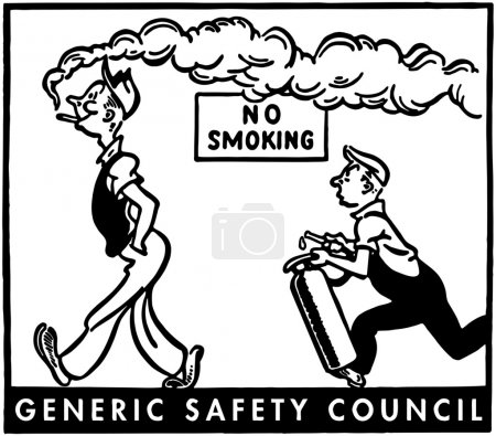 Illustration for No Smoking - Royalty Free Image