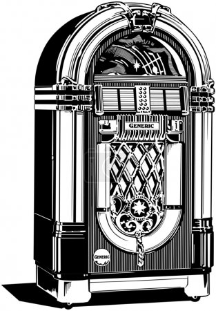 Illustration for Jukebox - Royalty Free Image
