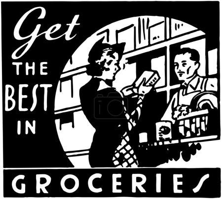 Get The Best In Groceries