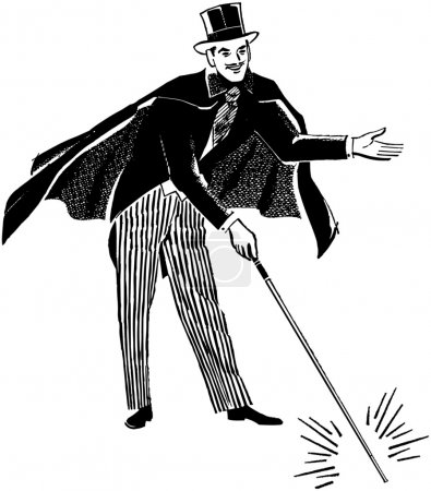 Illustration pour Magicien - image libre de droit