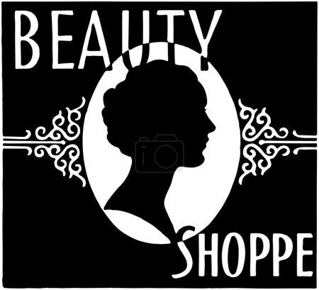 Illustration pour Beauté Shoppe - image libre de droit
