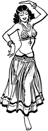 Photo for Belly Dancer - Royalty Free Image