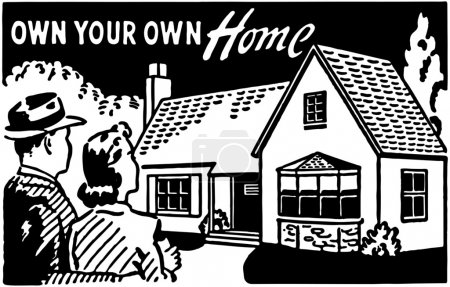 Illustration for Own Your Own Home - Royalty Free Image