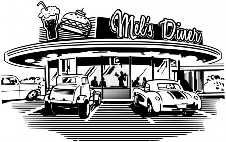 Photo for Retro Diner - Royalty Free Image