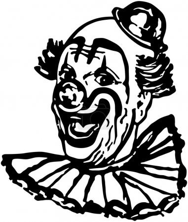 Illustration for Classic Clown - Royalty Free Image