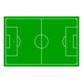 Soccer field with Line and Grass Texture