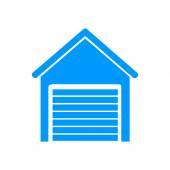 Garage icon Modern design flat style icon