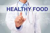 Doktor znakem zdravé potraviny