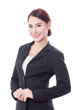 Portrait of asian young business woman