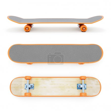 Skateboard clipping path