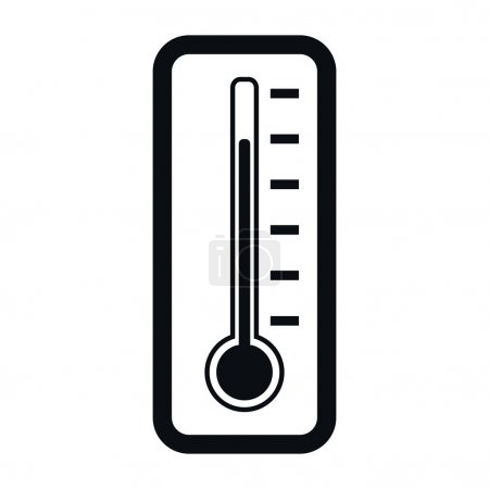 Thermometer Icon, Vector Illustration