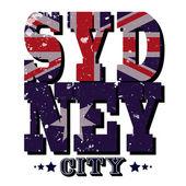 Sydney City T-shirt Typography Vector Illustration