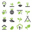 Sprout icon set...