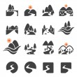 River icon set...