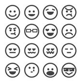 Lidské emoce ikony