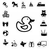 Toys Silhouette Icons