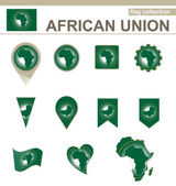 African Union Flag Collection