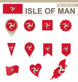 Isle of Man Flag Collection 12 versions