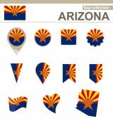 Arizona Flag Collection 12 versions
