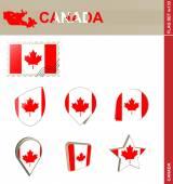 Canada Flag Set Flag Set 133