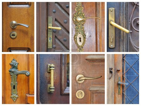 Doorhandle collage