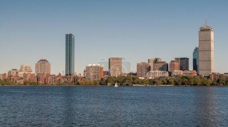 Photo for Skyline of Back Bay Boston, Massachusetts, USA - Royalty Free Image
