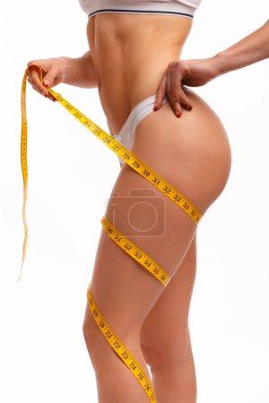 Perfect waist, butt and legs
