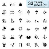 33 black travel icons 02