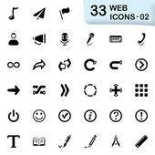 33 black web icons 02