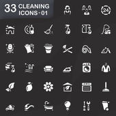 33 cleaning icons 01