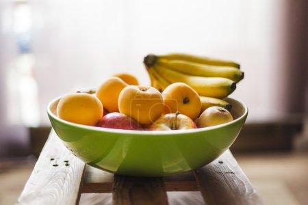 Fruit bowl full