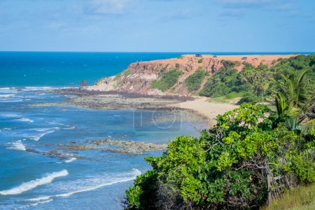 Photo for Pipa Beach, near Natal, Rio Grande do Norte state's capital. - Royalty Free Image