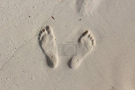 Step foot beach