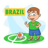 Boy championship sport brazil football soccer