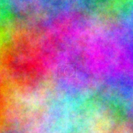 Abstract rainbow watercolor background